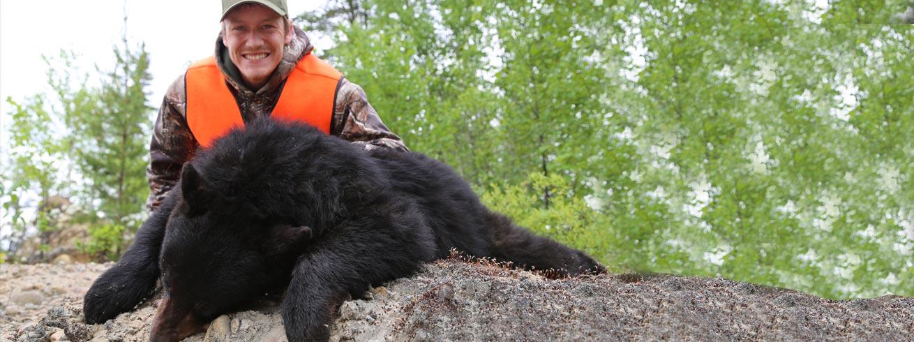 Chasse à l'our au Réservoir Gouin